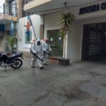 La Municipalidad continúa con la desinfección de edificios de la Capital
